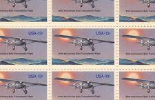 Transatlantic Flight Stamp Sheet, Scott #1710, MNH