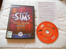 PC GAME-THE SIMS-HOT DATE-EXPANSION PACK-Computer-Completo-GIOCO-DVD-ITALIANO