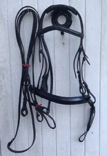 DOUBLE BRIDLE WITH MATCHING REINS.* + NEW.  FULL SIZE.  (Ref: 161 B)