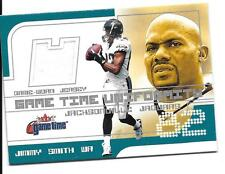Jimmy Smith 2001 Fleer Game Time Uniformity Jersey #30 Jacksonville Jaguars