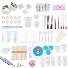 174PCS DIY Resin Tool Kit Jewelry Glue Cast Set Handmade Silica Gel Material