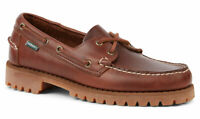 Sebago Ranger Waxy Men's Boat Shoe 7001HU0/925 Brown Waxy NEW