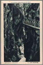 ANNECY Les Gorges du FIER Les Galeries 74 Haute-Savoie CPA Édit Fauraz 1920-1930