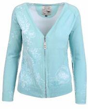 La gauchita by L 'argentina señora chaqueta de punto Cardigan tamaño m 38 100% algodón