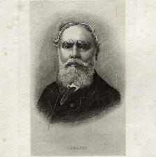 CABANEL 1823 1889 Original Pré-tirage Eau Forte FOREST FLEURY 1843 1898