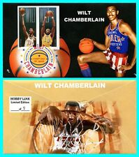 Wilt Chamberlain Imperf Pair First Day Cover with Color Cancel