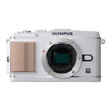 USED Olympus E-P3 12.3 MP Body White Excellent FREE SHIPPING