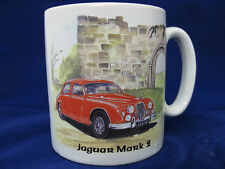 JAGUAR MARK 2  CLASSIC CAR  MUG