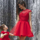 Women Short Mini Skater Dress Cocktail Prom Gown Homecoming Dres Evening Party