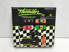 Days of Thunder 1:64 Scale Die Cast Race Cars, Launcher & Fuel Bottle - SEALED!