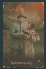 Collection of Three Post Cards from Europe, Couples (Used) Scv: $18.98