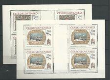 1984 MNH Tschechoslowakei Mi 2770-1