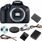 NEW Canon Rebel T5 DSLR 18.0MP Camera w/ EF-S 18-55mm IS II Lens (3 LENSES)