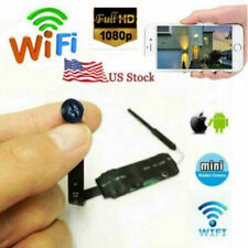 1080p 4k WIFI ip wireless HD spy mini pinhole hidden DIY black Screw camera dvr