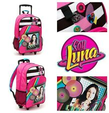 DISNEY SOY LUNA CABIN TROLLEY BACKPACK CASE WHEELED BAG SUITCASE HAND LUGGAGE