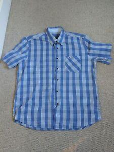 Tommy Hilfiger Shirt Size XXL Blue Check Worn Once