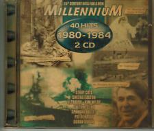 CD - MILLENNIUM 1980 - 1984 - 40 HITS / 2-CD ALBUM #C68#