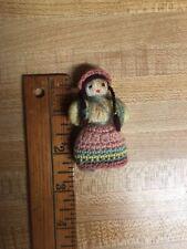 Handmade Crochet Pendant Doll