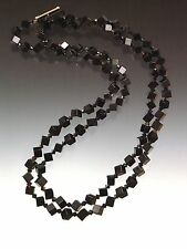 Art Deco Flapper Rope Necklace Clearance Sale - Bess Heitner Jet