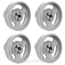 4 x Genuine Baumatic Lower BDW45 BDI652 BDI631 Basket Wheel Dishwasher Wheels