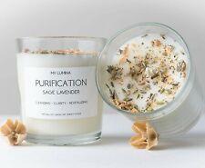 My Lumina Purification Sage Lavender Candle - Smudging Chakra Balancing Healing