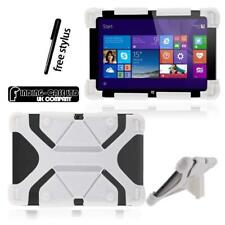 Shockproof Silicone Stand Cover Case For Various LG G Pad inch Tablet + Stylus