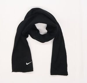 Nike Mens Black  Knit Scarf  One Size
