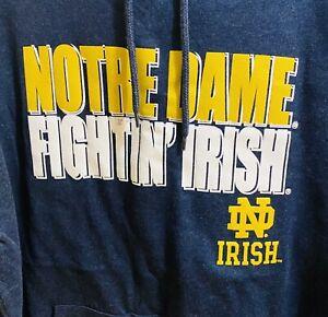 NEW NEVER WORN Colosseum Hoodie Sweatshirt NOTRE DAME FIGHTIN' IRISH Size XL