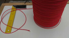300m X 2.5mm RED DOUBLE BRAID WITH DYNEEMA® CORE, YACHT & MARINE ROPE tens:280kg