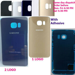 Battery Back Cover Rear Glass Door For Samsung Galaxy S6 Edge Plus, S6 Edge, S6