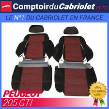 Garnitures sièges avant et banquette arrière pour Peugeot 205 GTI
