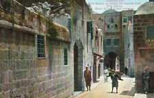 Jerusalem,Israel,Middle East,The House of the Wicked Rich Man,c.1909