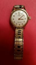 VINTAGE OMEGA LADYMATIC GOLD TONE WATCH
