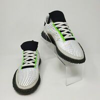 Adidas Originals Kamanda Mens Shoes Crystal White Core Black (EE7077) NEW Size 5