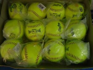 "(DOZEN) Rawlings 11"" ASA Dream Seam Fastpitch Softballs Model C11RYSA"