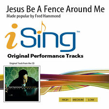 Fred Hammond - Jesus Be A Fence Around Me - Accompaniment Track