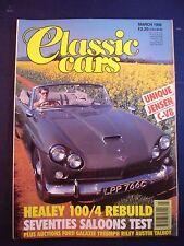 Classic Cars - March 1992 - Jensen CV 8 - Healey 100/4 - 70s Saloons