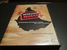 """DVD NF """"OPERATION MOISE"""" documentaire Radu MIHAILEANU / exode juifs Ethiopiens"""