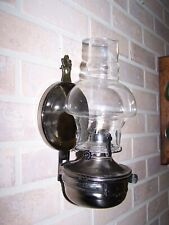 Vintage Lamplight Farms Metal Wall Sconce Oil Lamp Silver Tone