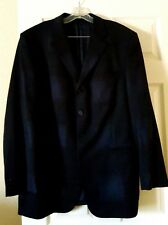 VERSACE CLASSIC MEN'S PURE WOOL DEMASK CHECK SUIT JACKET