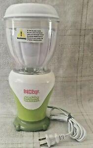 Nuby Mighty Blender, Baby Food, Model 5442; Green/White