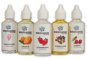 BUY 3 GET 1 FREE! HIGHLY CONCENTRATED LIQUID FOOD FLAVOURING CAKES DRINKS SWEET