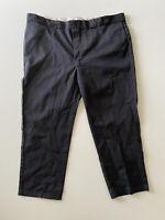 Dickies 874 Original Fit Work Pants Black Mens Size 48x30 EUC
