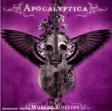 APOCALYPTICA WORLDS COLLIDE DELUXE CD + DVD SEALED