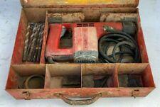 Hilti TE12 TE 12 Electro Pneumatic Hammer Drill w/ Bits, Accessories & Case