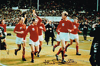 JACK CHARLTON HAND SIGNED 1966 ENGLAND WORLD CUP PHOTO LEEDS UNITED AUTOGRAPH 3