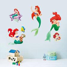 DIY Beauty Little Mermaid Art Vinyl Wall Stickers Decal Baby Girls Room Decor