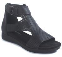 Pierre Dumas Women's Kecey 3 Black Synthetic sandals