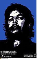 Political cuban POSTER.Humanity said ENOUGH.Cuba Che 8.Revolution Art Design