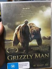 Grizzly Man NEW/sealed region 4 DVD (2005 Werner Herzog documentary movie)